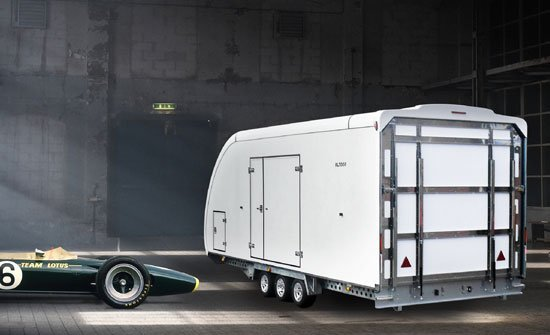 Woodford Car Trailers & Vehicle Transportation | Open & Fully Covered Professional Car & Vehicle Trailers | Covered Car Trailer