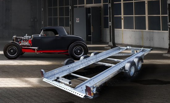 Woodford Car Trailers & Vehicle Transportation | Open & Fully Covered Professional Car & Vehicle Trailers | Open Car Trailer