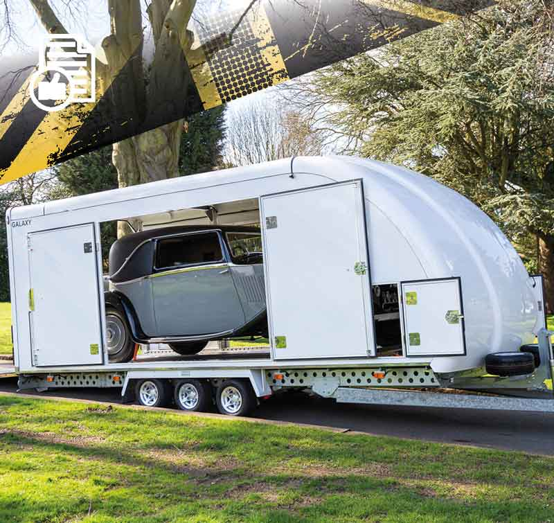 Woodford Car Trailers & Vehicle Transportation | Open & Fully Covered Professional Car & Vehicle Trailers | Prestige Trailer