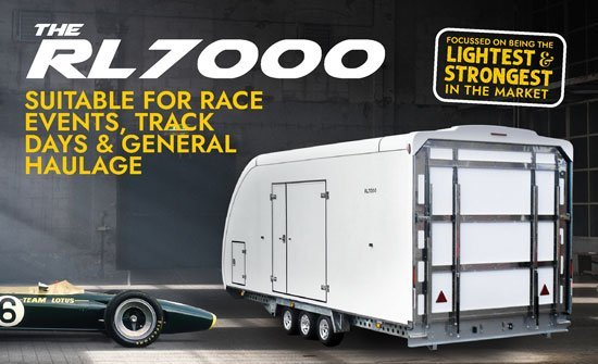 Find Your Car Trailer | Woodford Professional Vehicle Trailers | RL7000 Covered Trailer